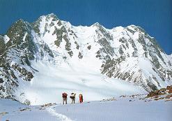ボゴダ中央峰